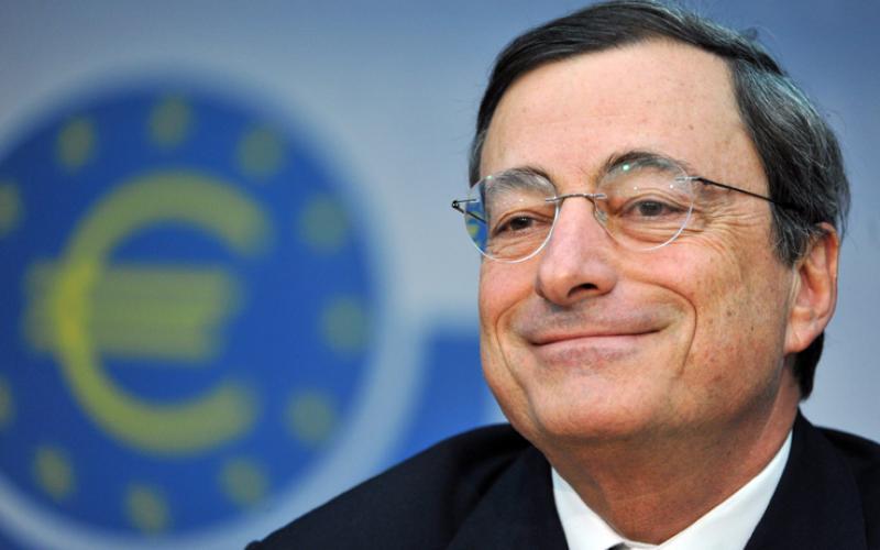 BCE, Draghi rassicura sul supporto dell'Eurotower