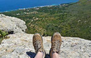 trekking piedi