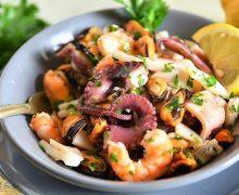 Come preparare un'insalata di mare